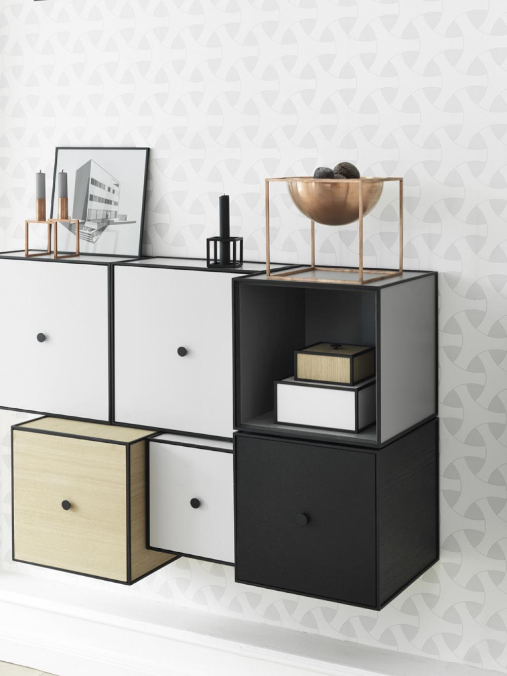 schranksystem frame von by lassen bei. Black Bedroom Furniture Sets. Home Design Ideas