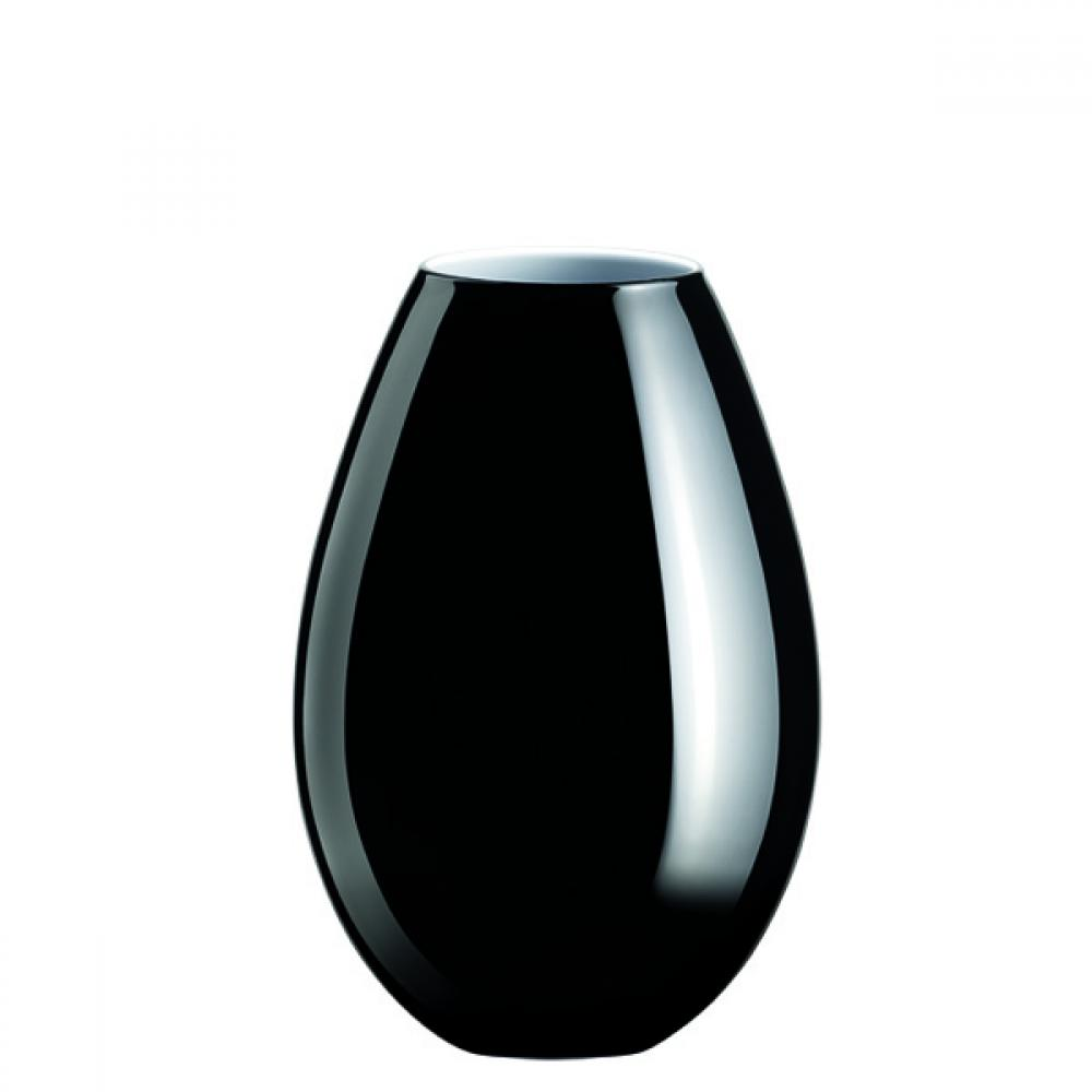 die schwarze cocoon vase von holmegaard im shop. Black Bedroom Furniture Sets. Home Design Ideas