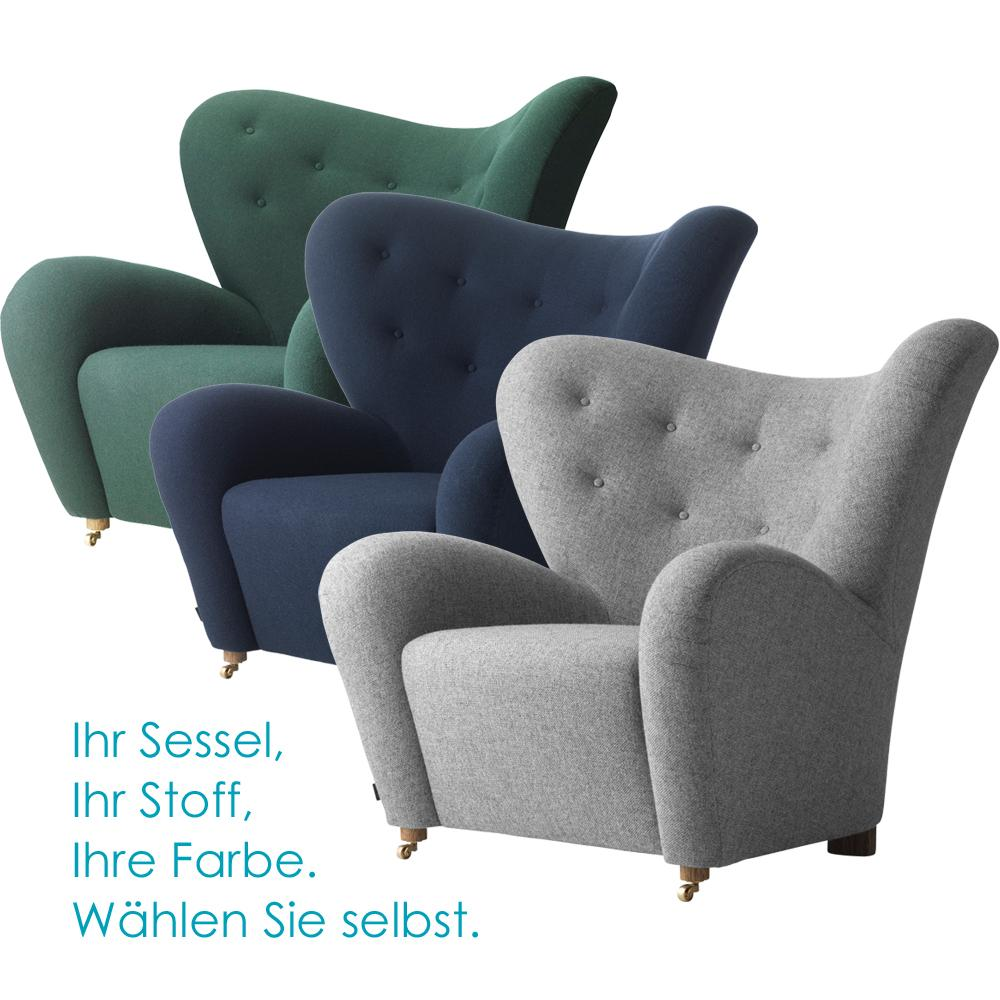 der m de mann sessel von by lassen bei. Black Bedroom Furniture Sets. Home Design Ideas