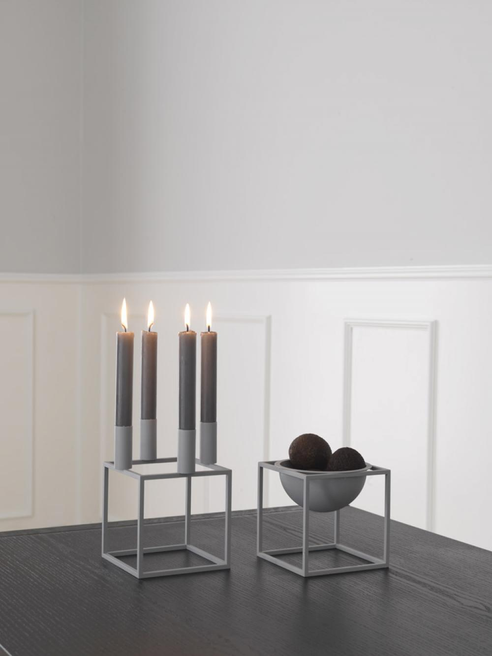 kerzenhalter kubus 4 von by lassen im onlineshop. Black Bedroom Furniture Sets. Home Design Ideas